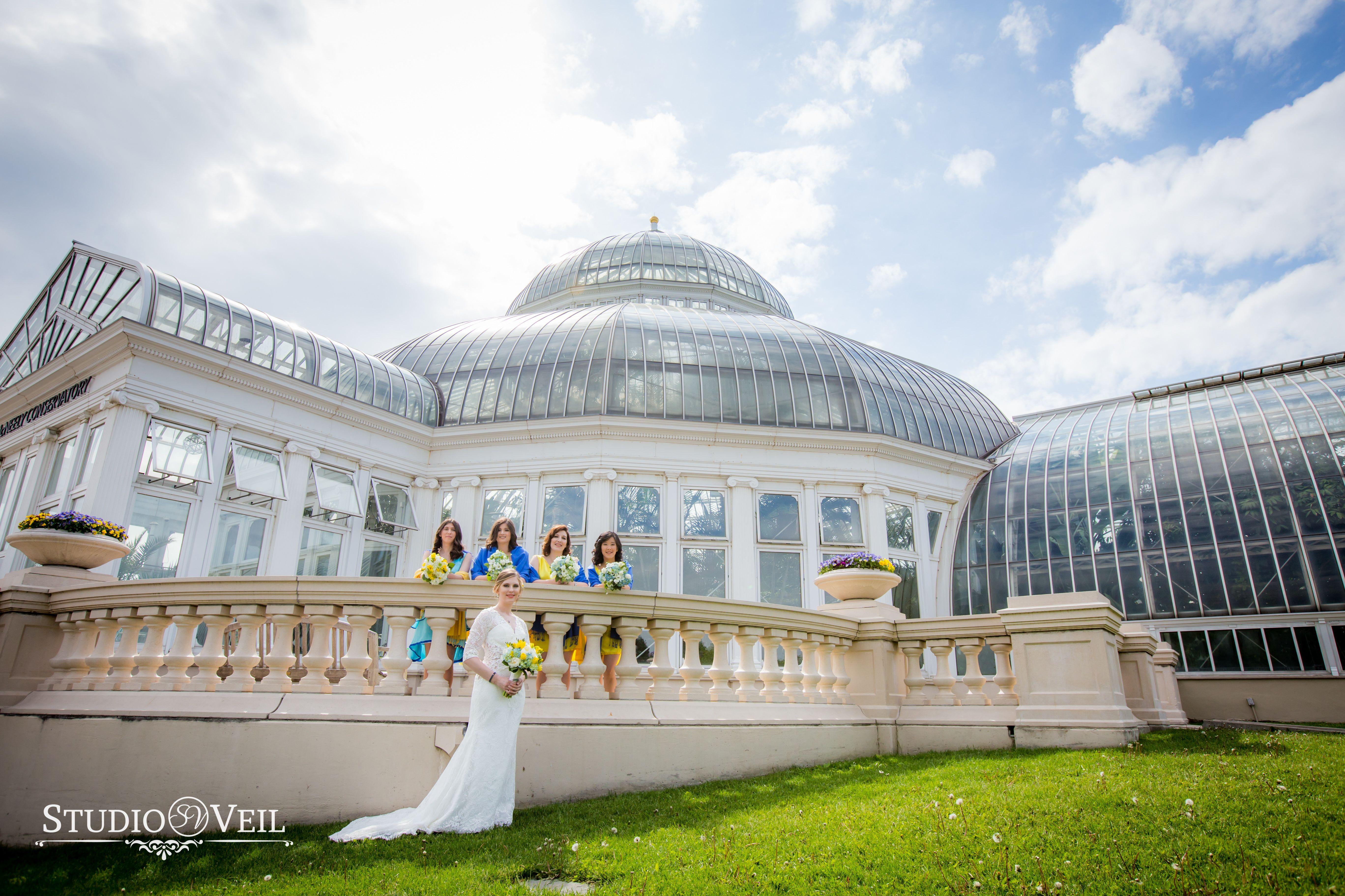 Como Conservatory zoo Wedding