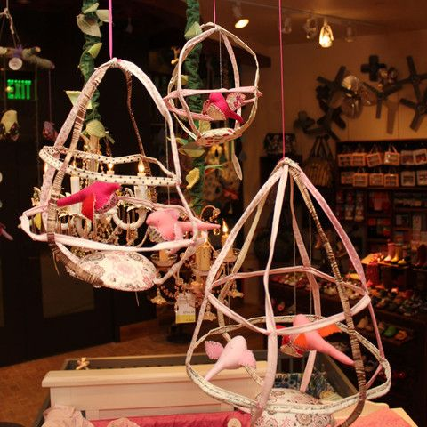 Tamar Bird Cage Mobile | oh baby!
