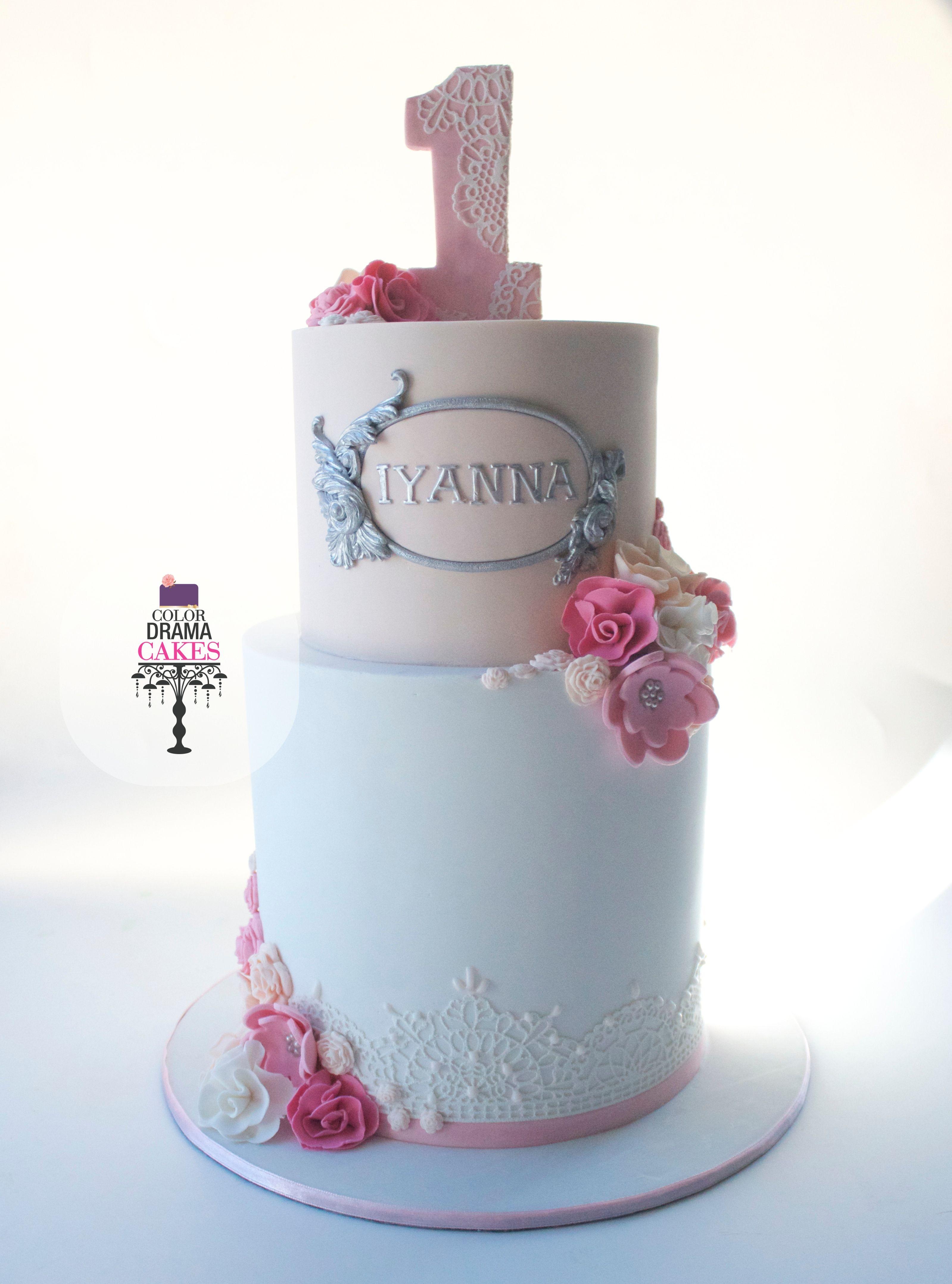 1st birthday cake flower cake flower themed cake pink cake 1st birthday cake flower cake flower themed cake pink cake izmirmasajfo