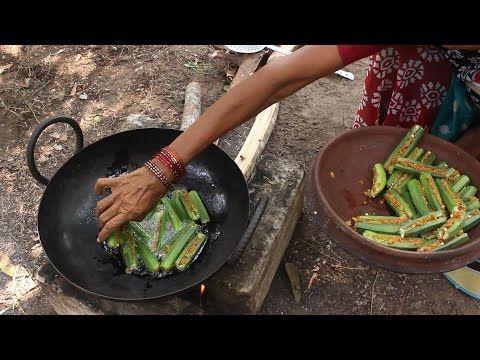 Ladys finger spl recipe by my grandma street food finger and ladys finger spl recipe by my grandma lady fingersindian vegetarian recipesteluguindian street foodfood forumfinder Images