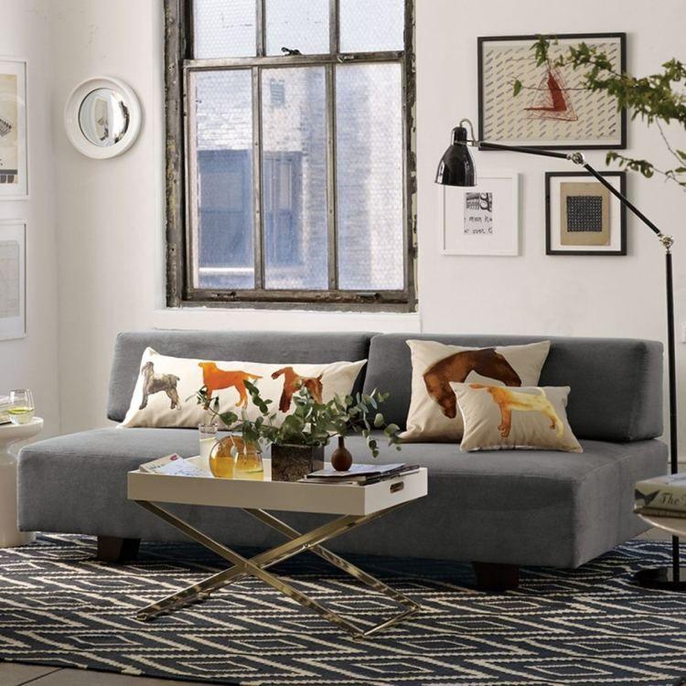 Wohnzimmer In Neutralen Farben Im Industriedesign Stil