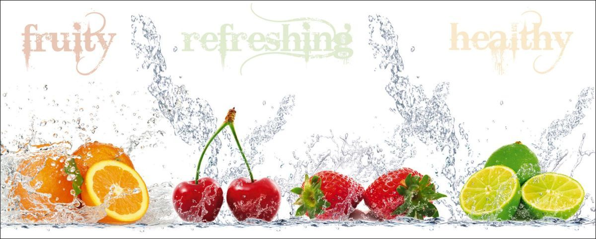 Bild Fruity Jetzt bestellen unter   moebelladendirektde - Küchenrückwand Glas Beleuchtet