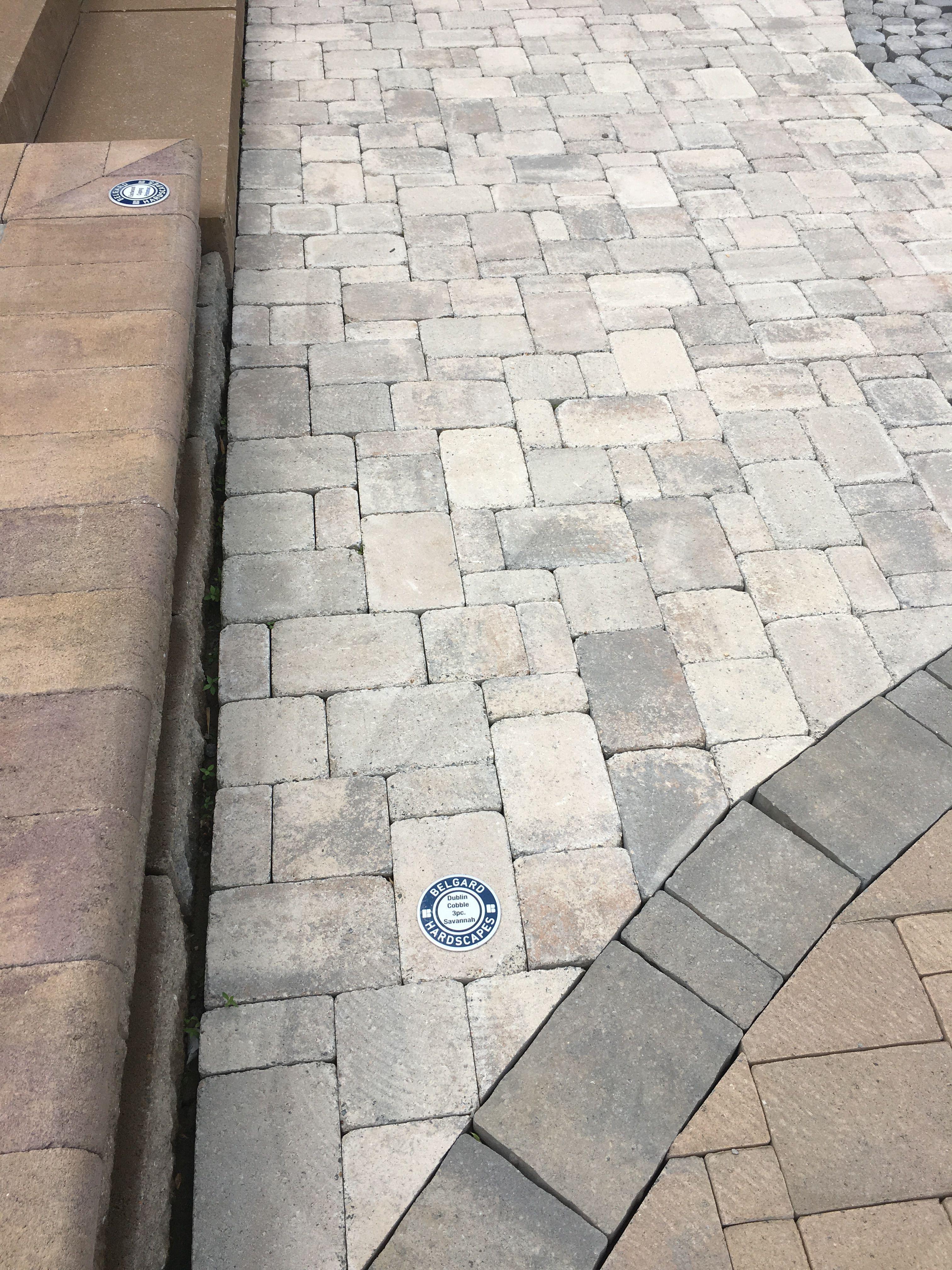 Belgard Dublin Cobble 3-pc Savannah   Liberty Road