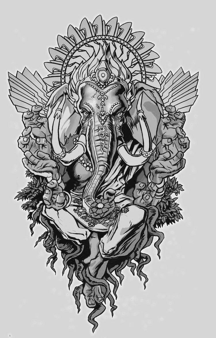 Ganesha Tattoo Image By Kurupjayshree On GANESHA