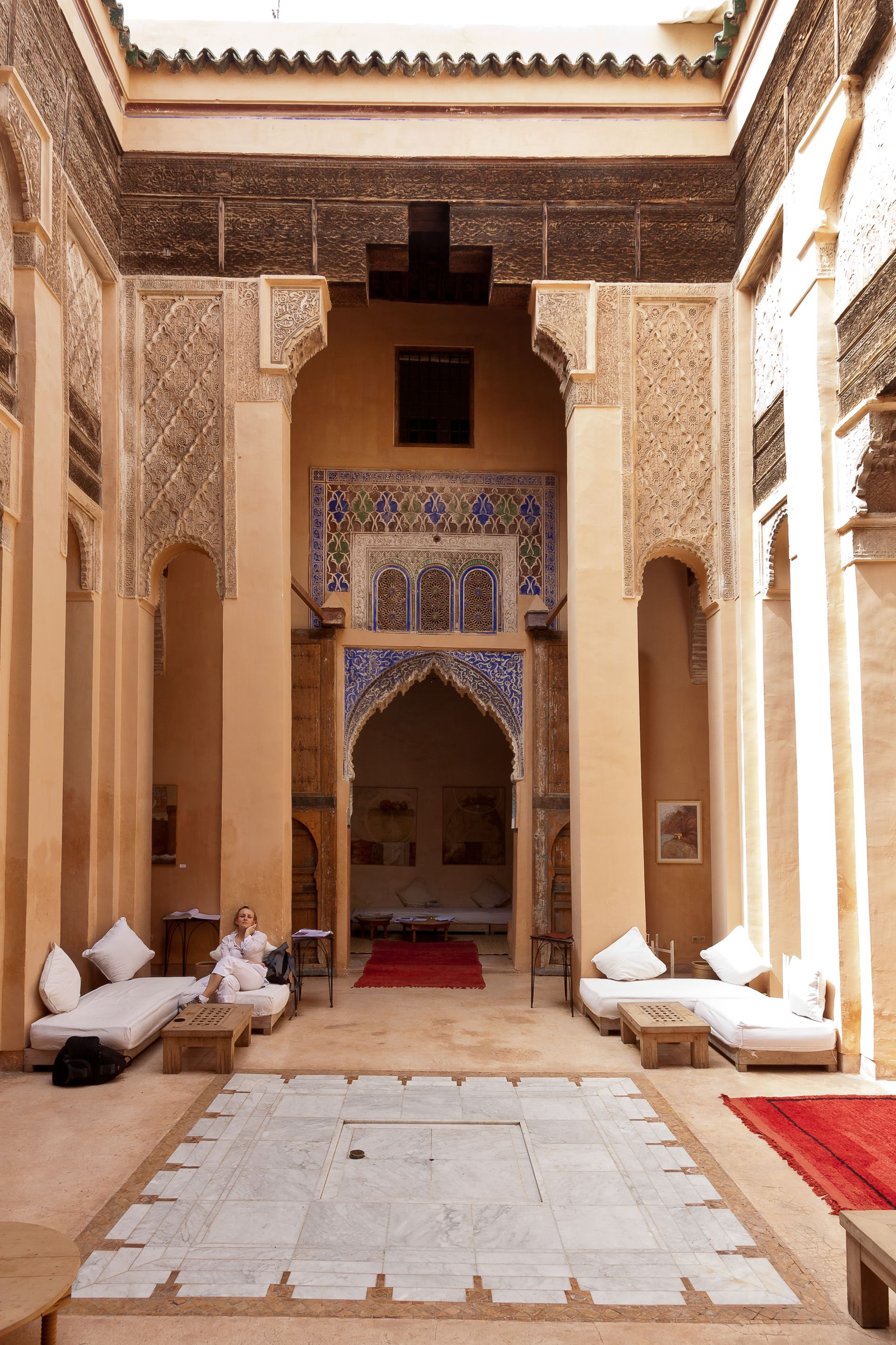 dar cherifa a restored traditional riad islamic art moroccan rh pinterest com