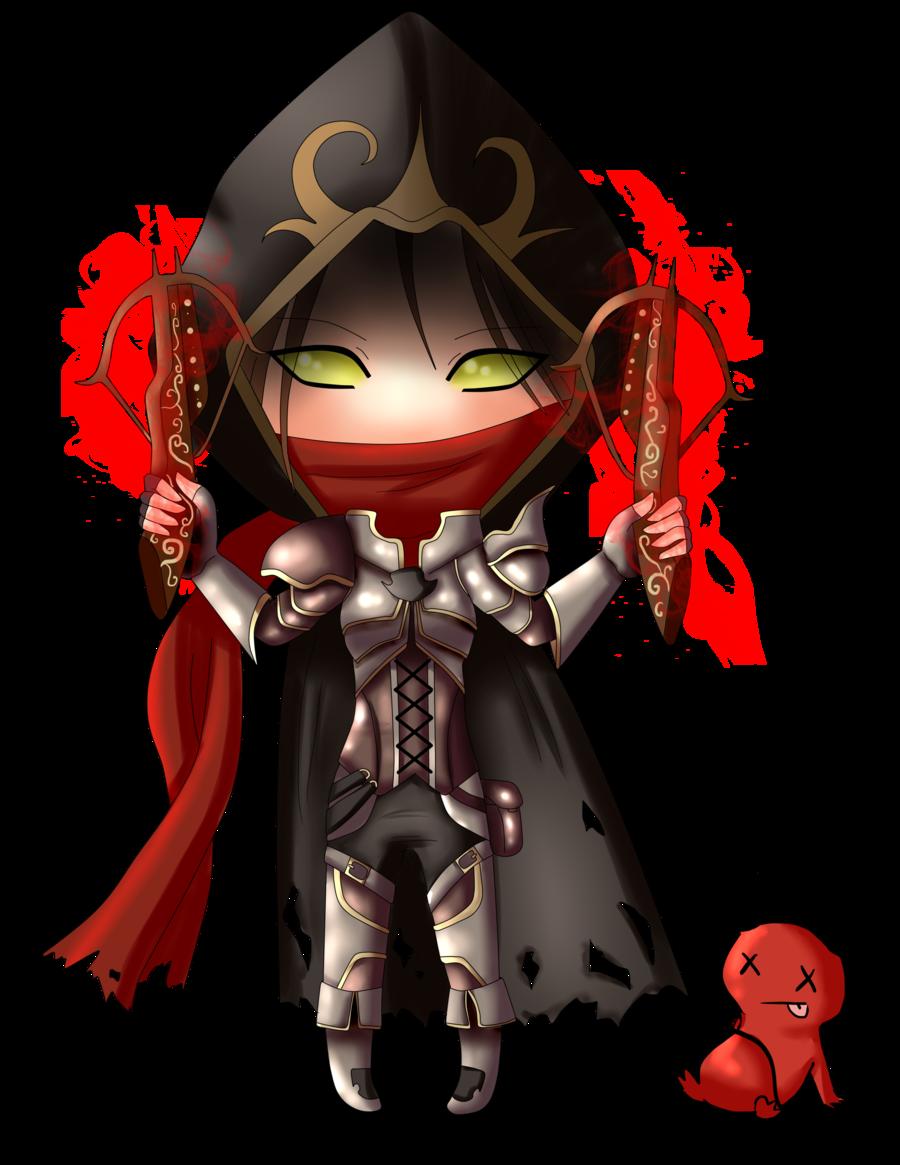 Chibi Demon Hunter (Diablo III) by