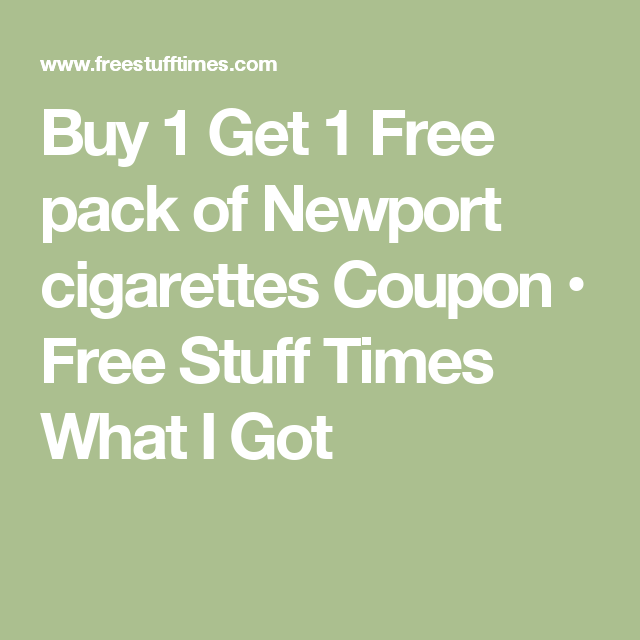 picture regarding Newports Coupons Printable called Pin upon Products and solutions PallMall blacks 100s