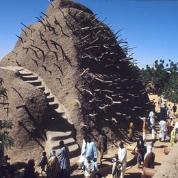 Mali - City, Circle and Region of Gao - Tomb of Askia - ©CRAterre / Thierry Joffroy