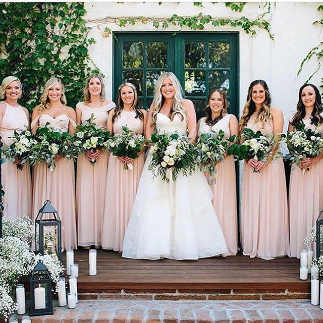 @dessygroup Has This Bride's Squad Looking #FABULOUS By