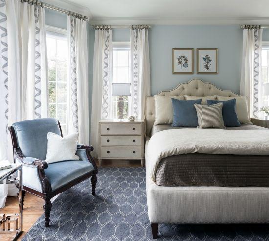 bedroom paint color trends for 2017  blue bedroom walls