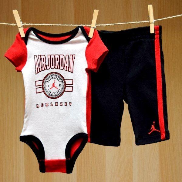 Air Jordan Baby Onesie Pants Set - Engineered