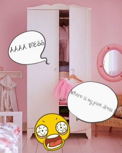 Jovanica : How to arrange your closet? :*
