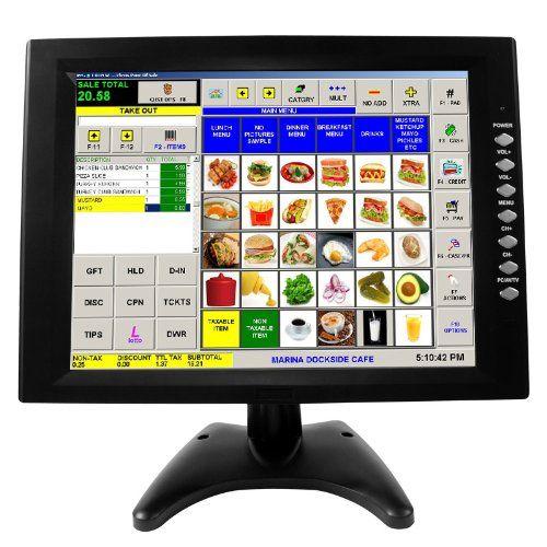 12 Touch Screen Pos Tft Lcd Touchscreen Monitor Vga Pc Monitor Touch Screen Vga