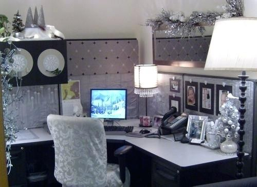 decoration ideas for office desk ideas for decorating your cubicle rh pinterest com