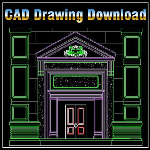 Architecture Decoration DrawingsCAD Library AutoCAD