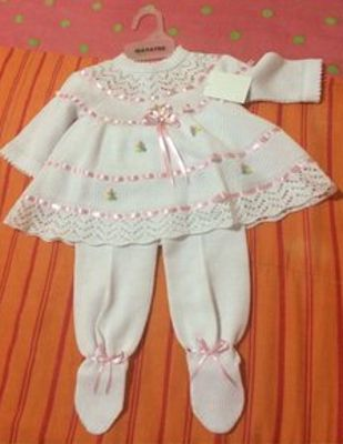 14e9b9289 Ropa de bebé recién nacido (fotos) | vestidos de niña | Ropa de bebe ...