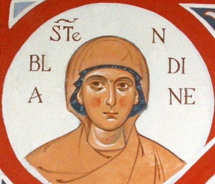 Santa Blandina, de los mártires de Lyon - 2 junio