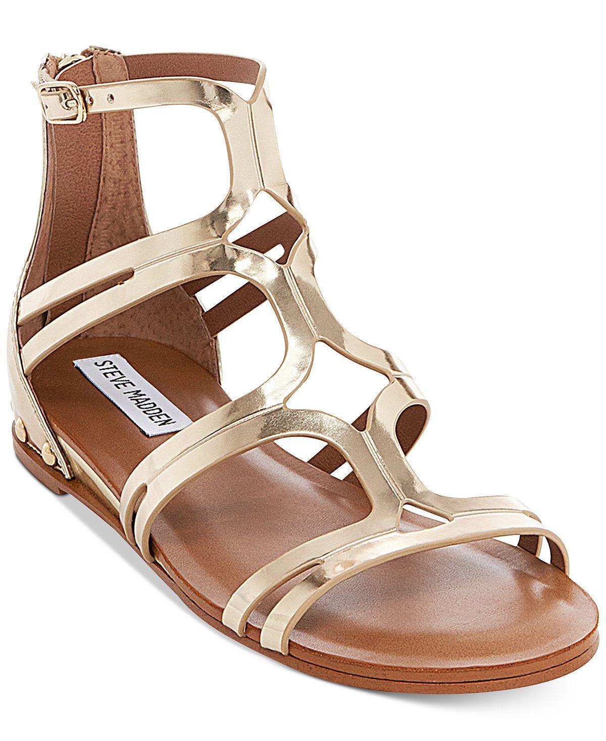 fb9c33a6019 Steve Madden Women's Delta Gladiator Sandals - Sandals - Shoes ...