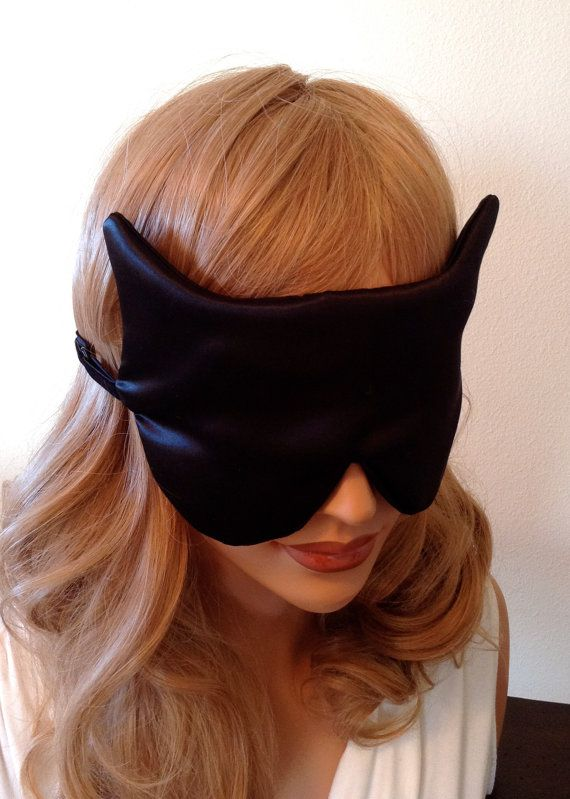 Silk Sleep Mask Antiaging Black Fully Adjustable By Adorabellababy 27 99 Eye Mask Sleep Sleep Mask Silk Eye Mask