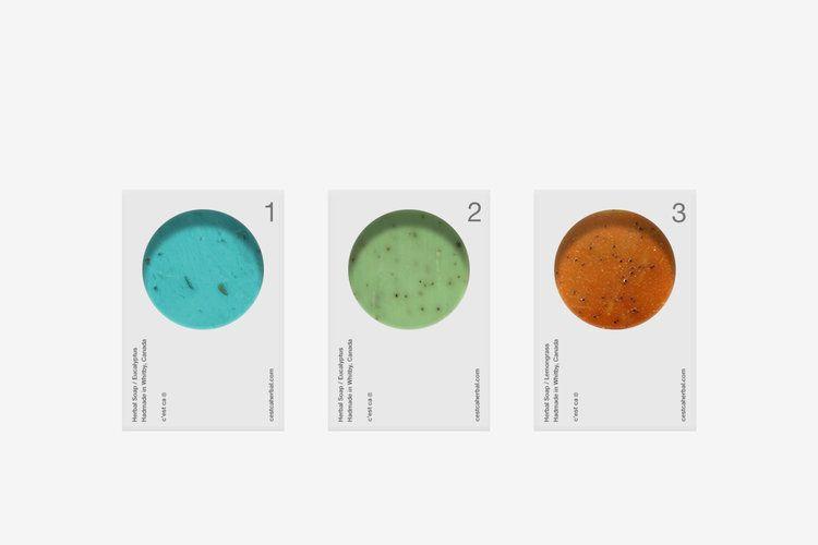 C'est Ça Herbal Soap | Package | Packaging design, Skincare ...