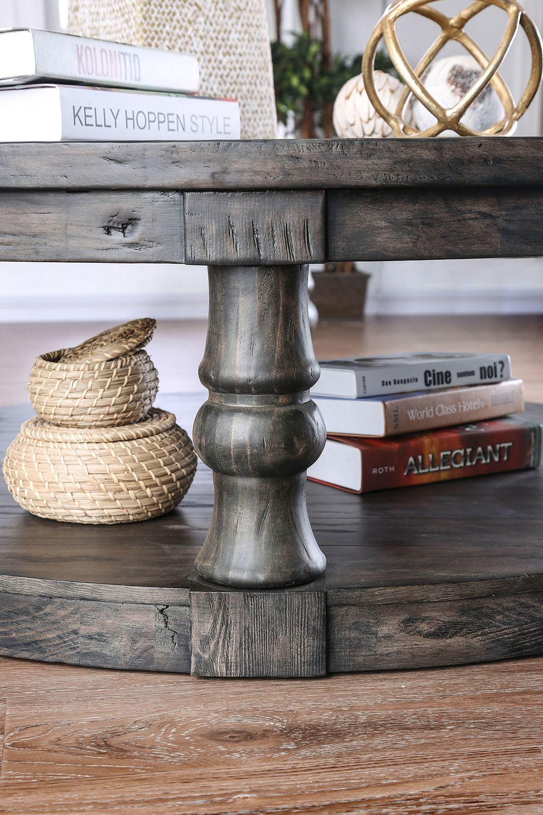 mika gray coffee table cm4424gy c furniture of america on stunning wooden metal coffee table id=40914
