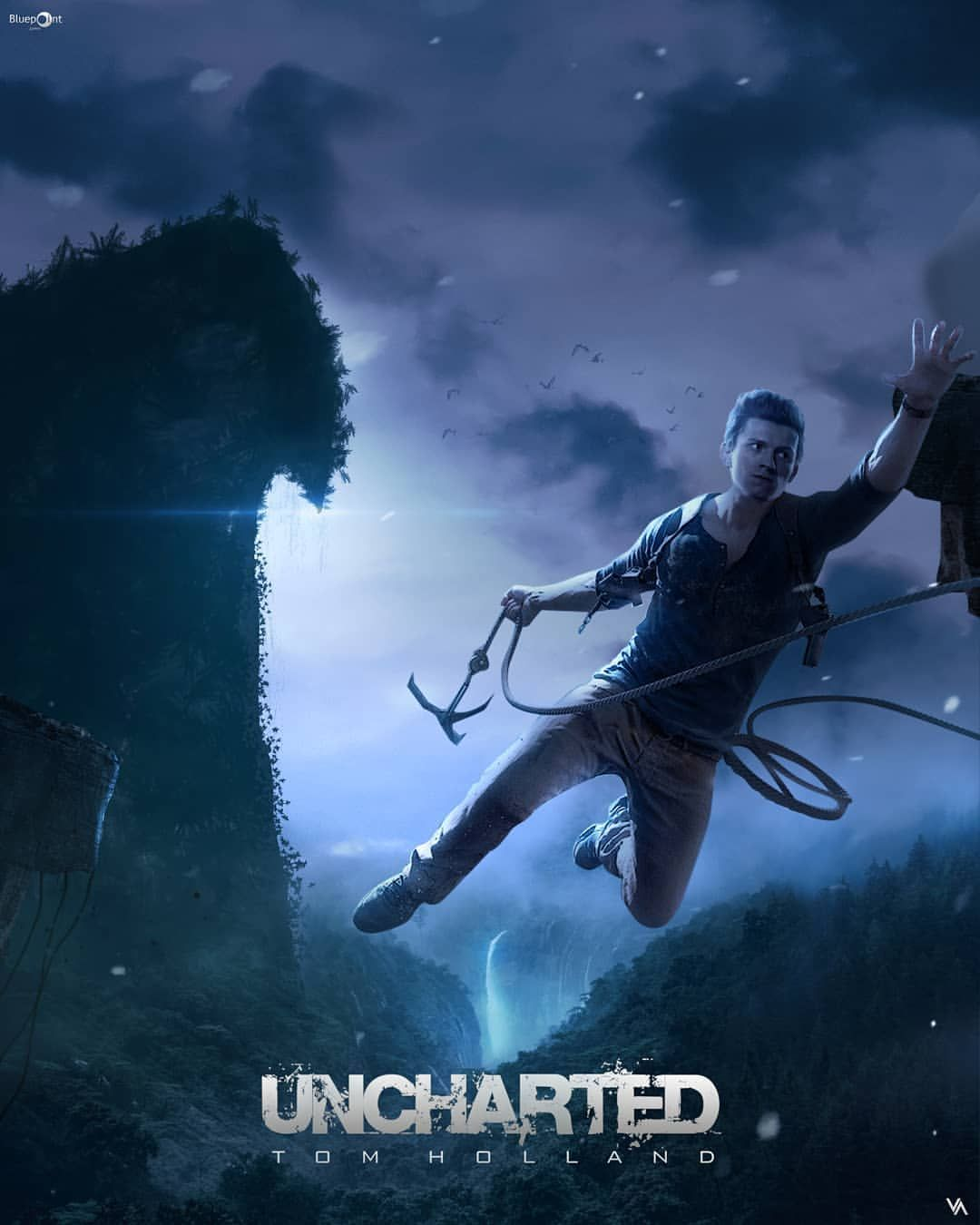 Pin By Jasmine On Uncharted Tom Holland Uncharted Nathan Drake