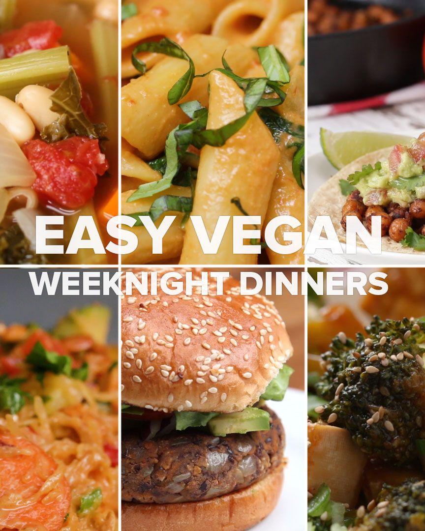 Creamy Dairy Free One Pot Pasta Recipe By Tasty Recipe Vegan Dinners Vegetarian Recipes Healthy Recipes