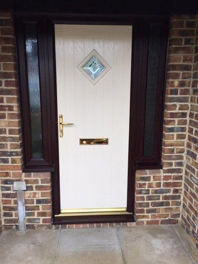 New Windows - Warminster Cream Composite Door with ...