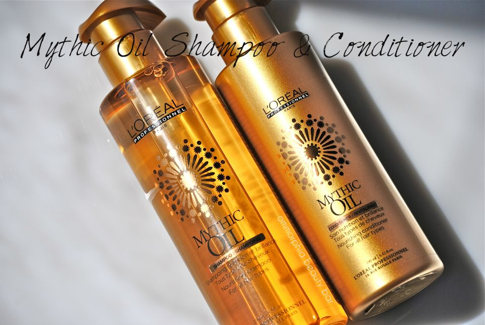Mythic Oil Nourishing Shampoo & Conditioner