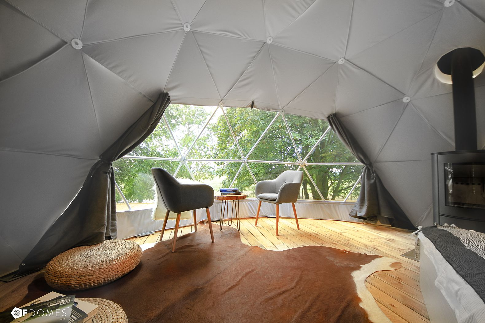 Create Your Own Backyard Geodesic Dome With These Super Affordable