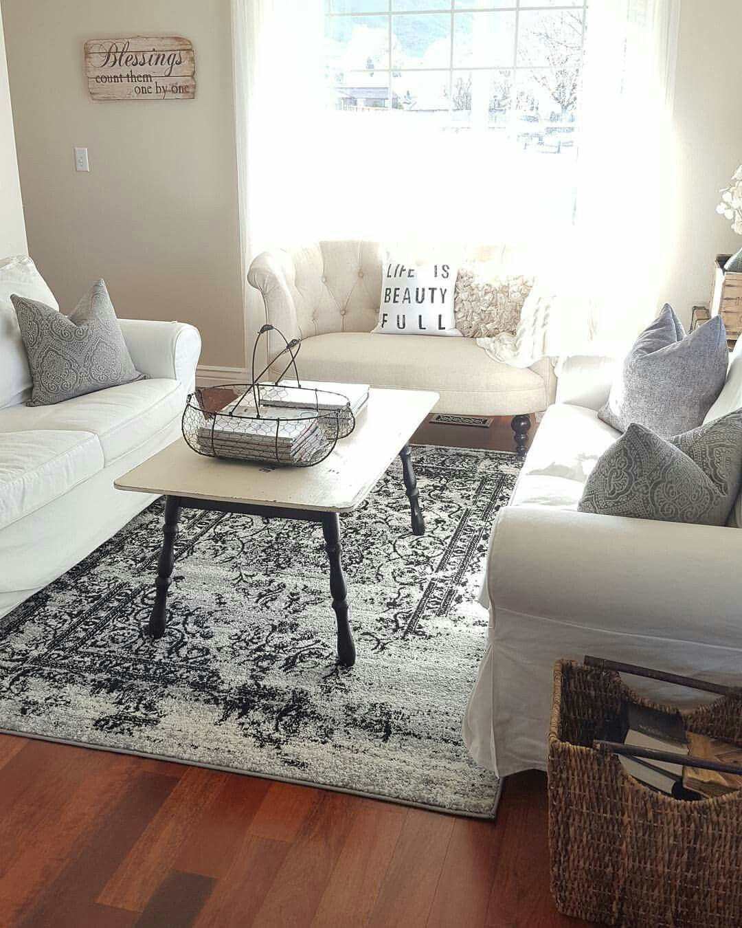 Neutral Decor, Slipcovered Sofas, throw pillows