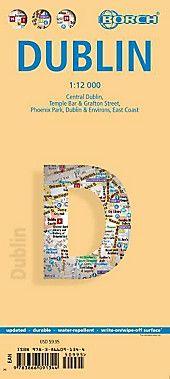 Borch Map Dublin Karte Im Sinne Von Landkarte Buch In 2020