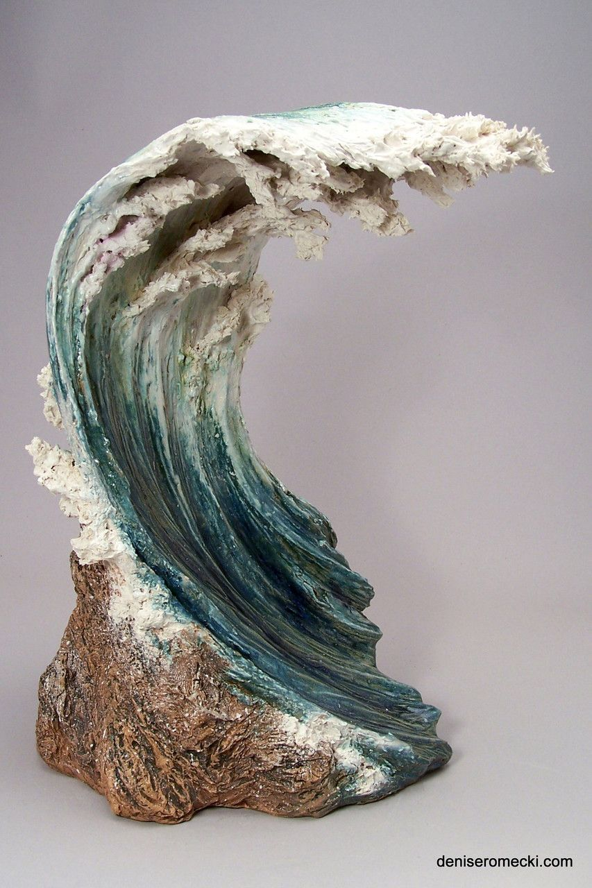 Pictures Of Pottery Barn Bedrooms: Waves - Denise Romecki - Ceramic Sculpture
