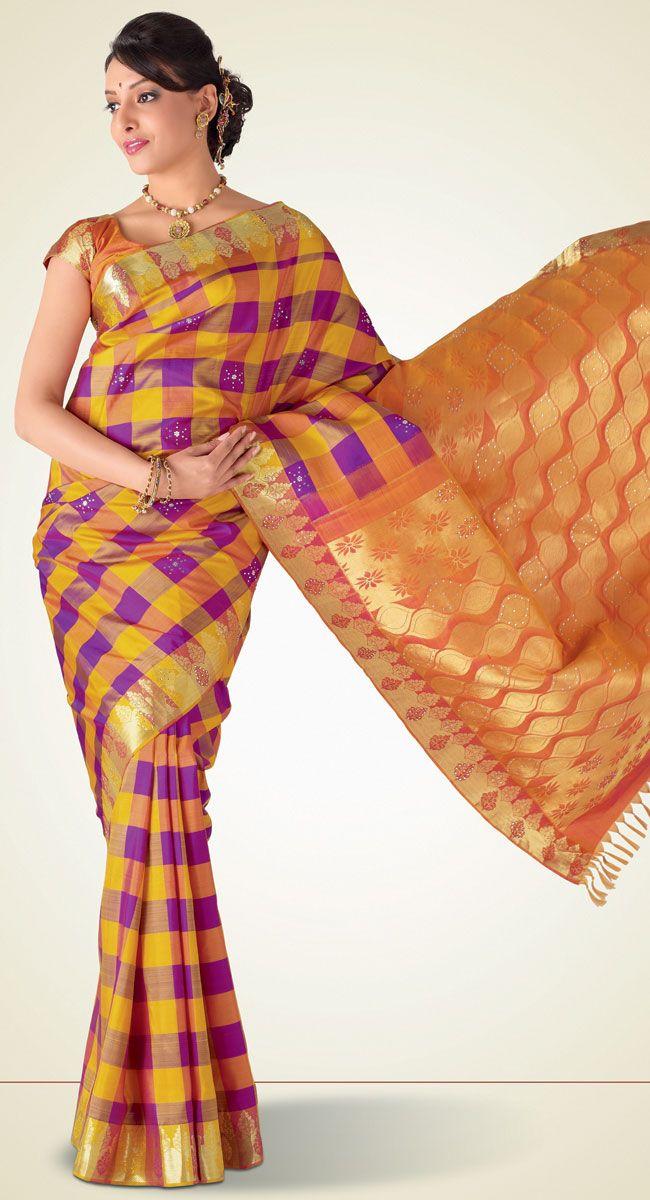 Anupama Kanchipuram Saree http://www.harinisilks.com/anupama-kanchipuram-saree.html