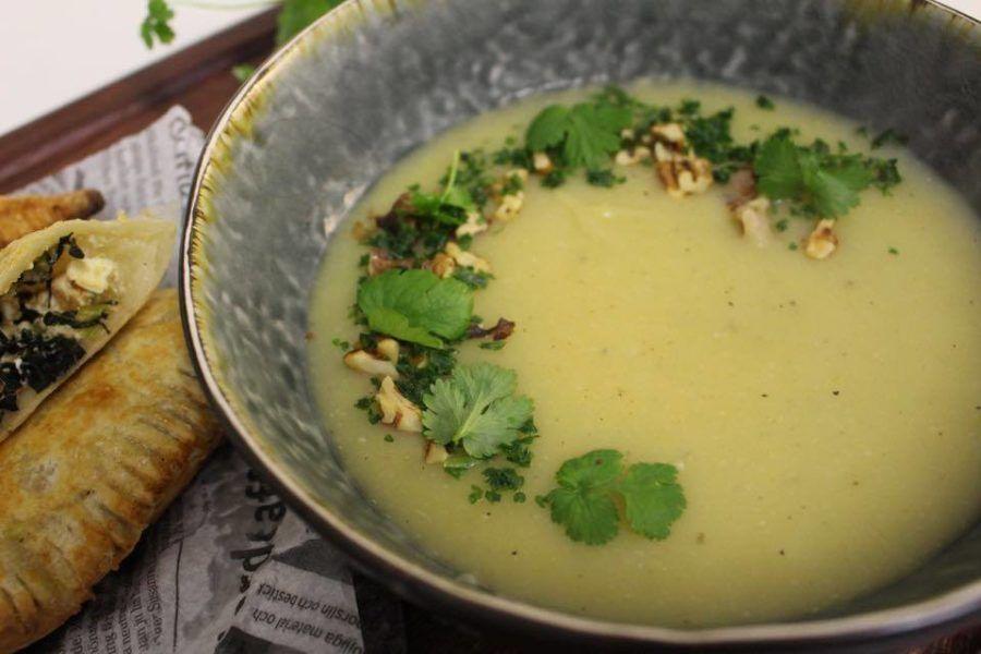 Potatis Purjolokssoppa Foood Soup