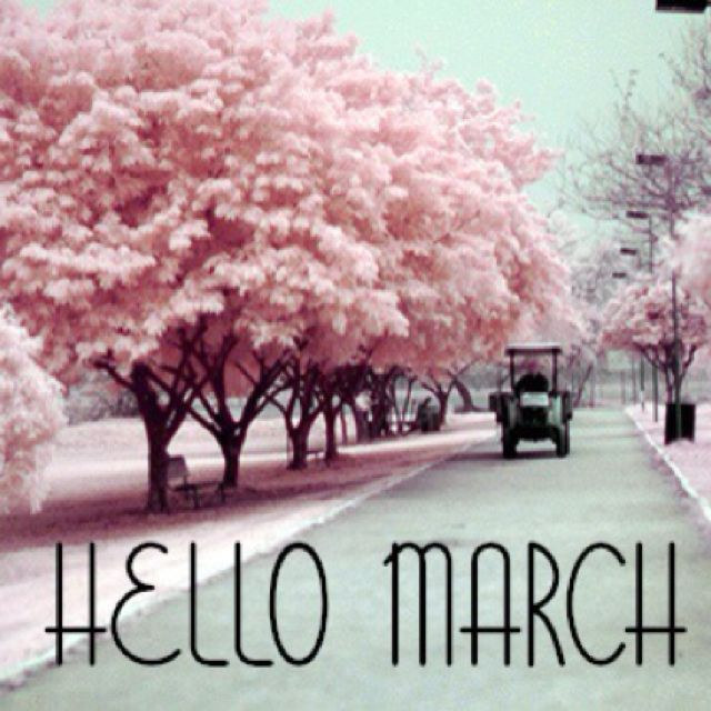 Happy March!!