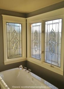 Colorado Springs Bathroom Stained Glass Windows Ceiling Light