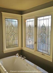 Colorado Springs Bathroom Stained Glass Windows Ceiling Light