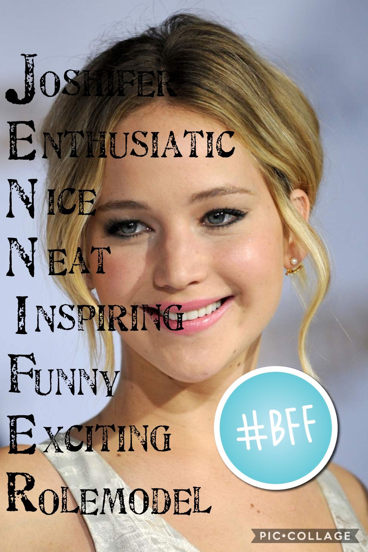 My idol❤️ we honestly would be besties if you're reading this Jen, I love you so much and I would love to meet you in LA❤️✌️