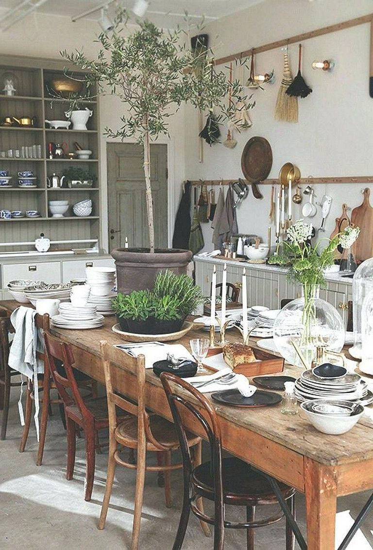 Awesome Dining Rooms From Hulsta: 45 Awesome Farmhouse Dining Room Table And Decor Ideas