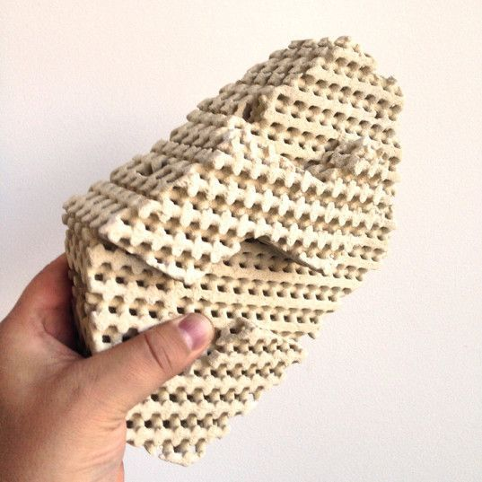 3d Printed Cool Brick Cools A Room Using Only Water Brick