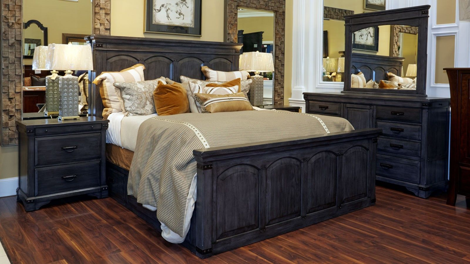 Larchmont king bedroom collection apartment wishlist pinterest