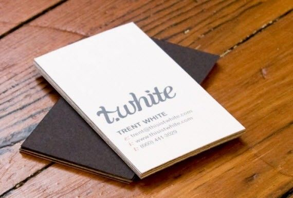 T white minimal business cards tarjetas pinterest minimal best printable creative business cards designs for graphic designers inspiration 2014 reheart Choice Image