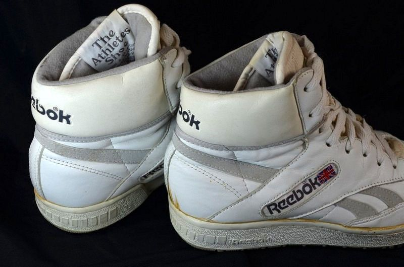 Size 85425 80s Vintage REEBOK BB4600 High Top BASKETBALL SHOES