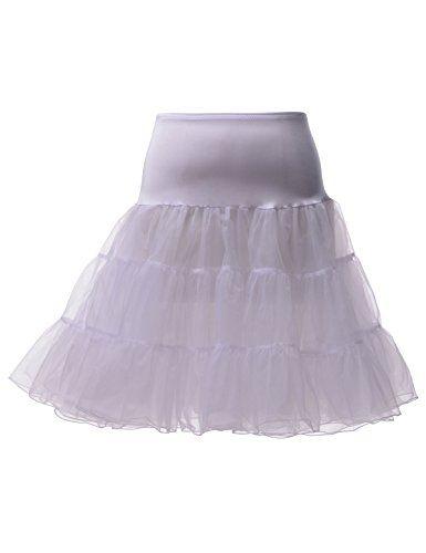 Remedios Kids Petticoat Skirt for Girls Tutu Half Slip Wedding Flower Girl Dresses