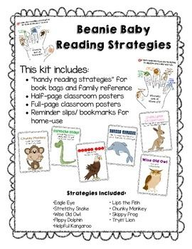 this pack includes 8 1 2 x 11 posters 4 1 4 x 5 5 posters rh pinterest com Guided Reading Strategies Chart chapter 11 guided reading strategies 11.1