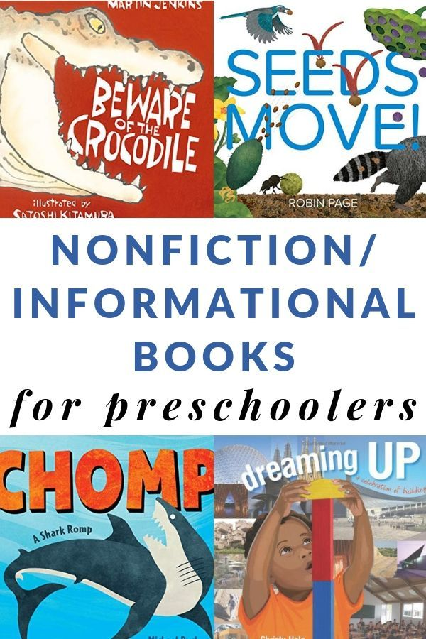 Grab this AMAZING printable list of informational nonfiction books for preschoolers that make great read-alouds to students. #booksforkids #nonfictionbooksforkids #booklists #education #childrensbooks #GrowingBookbyBook