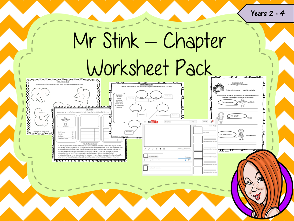 Mr Stink Worksheet Pack | Worksheets, Tes resources and Teaching ...