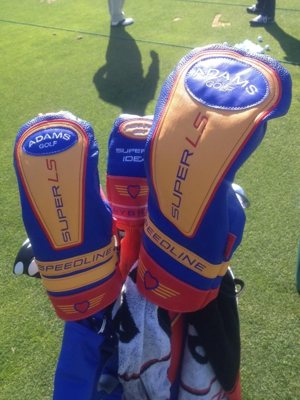 4481f12b095 Adams Golf and Southwest Airlines made up special sets of headcovers for  all the Adams staff players to use this season. They debuted at the Shell  Houston ...