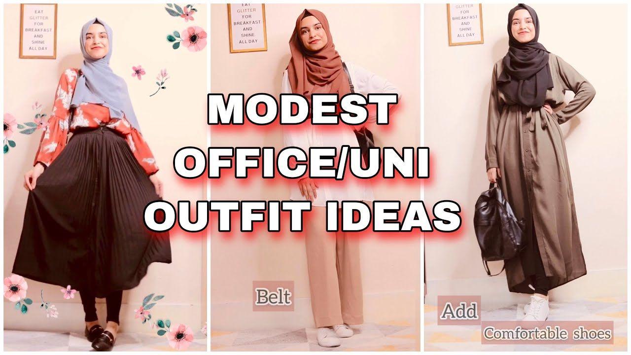Modest Outfit Ideas for Office, College, University | Azka & Ayesha 🧕